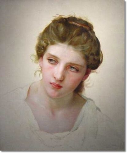the most beautiful woman in the world (Bouguereau)