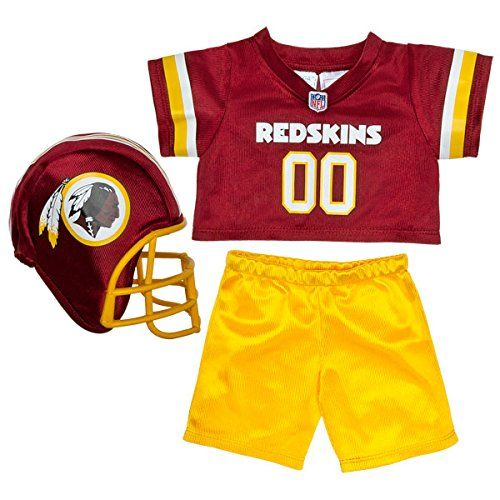 BuildaBear Workshop Washington Redskins Fan Set 3 pc *** You can find out more details at the link of the image.Note:It is affiliate link to Amazon.