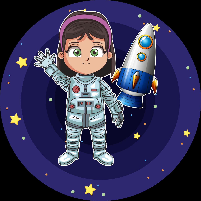 Детские картинки с космонавтом
