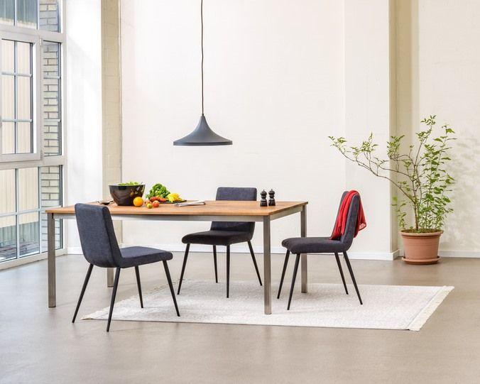 Micasa Esszimmer mit Esstisch ALEXIS und Stühle ORSINI Micasa - esstisch und stuhle esszimmer