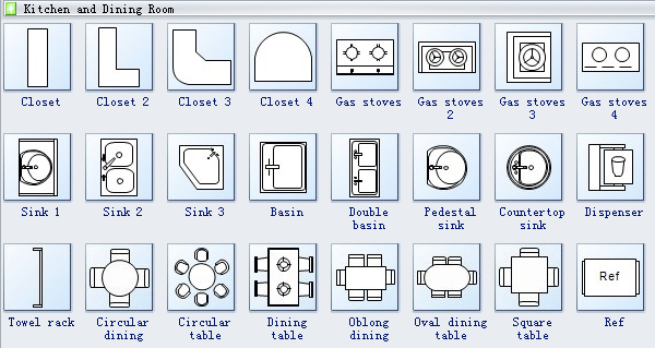 Home Plan Symbols Electrical Plan Symbols Floor Plan Symbols