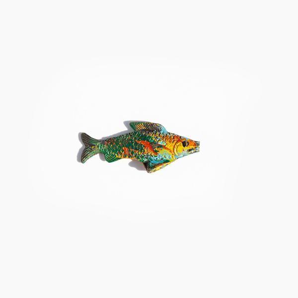 Painted Fish Talisman | Kindred Black