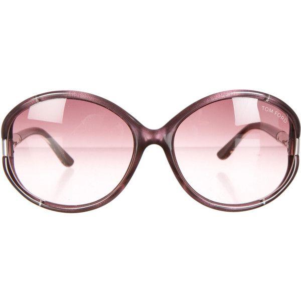 162c624d4160 Pre-owned Tom Ford Sandrine Sunglasses (1 825 ZAR) ❤ liked on Polyvore