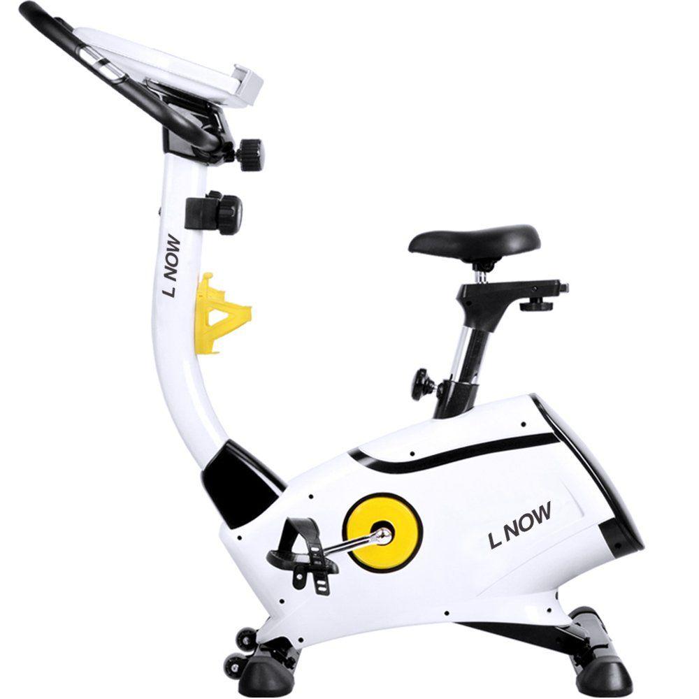 L NOW Upright Bike Magnetic Resistance Exercise Bike Indoor ...