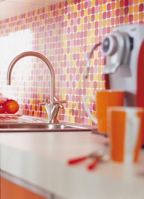 Wohnen mit Farben Sommerfarben für die Küche Schöner Wohnen