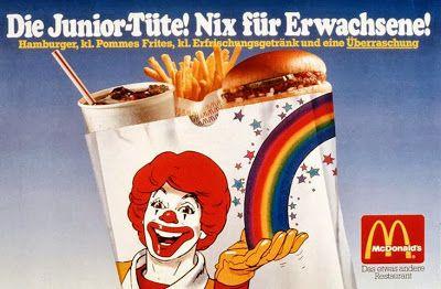 Nix Happy Meal Junior Tute 90er Kindheit Kindheit Kindheitserinnerungen