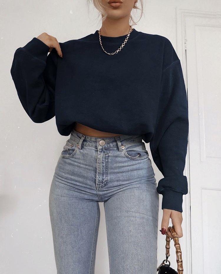 Photo of ASOS DESIGN high rise farleigh 'slim' mom jeans in lightwash | ASOS
