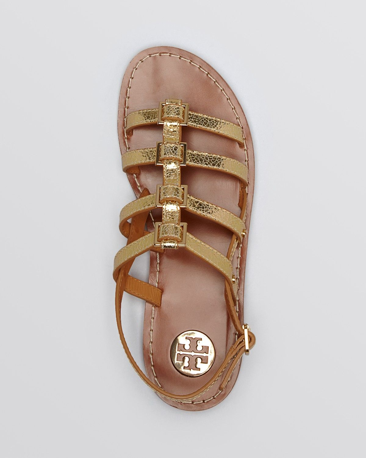 2b03722c8 Tory Burch Flat Gladiator Sandals - Reggie
