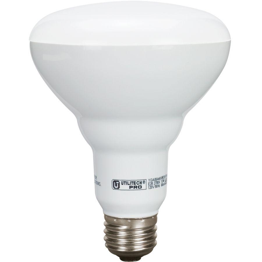 $24.98 Utilitech Pro 3-Pack 10-Watt (65W Equivalent) 2700K