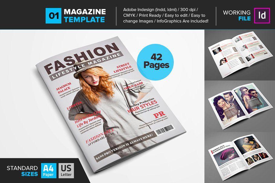 Magazine Bundle 10 Template V01 Magazine Template Company Profile Design Templates Change Picture