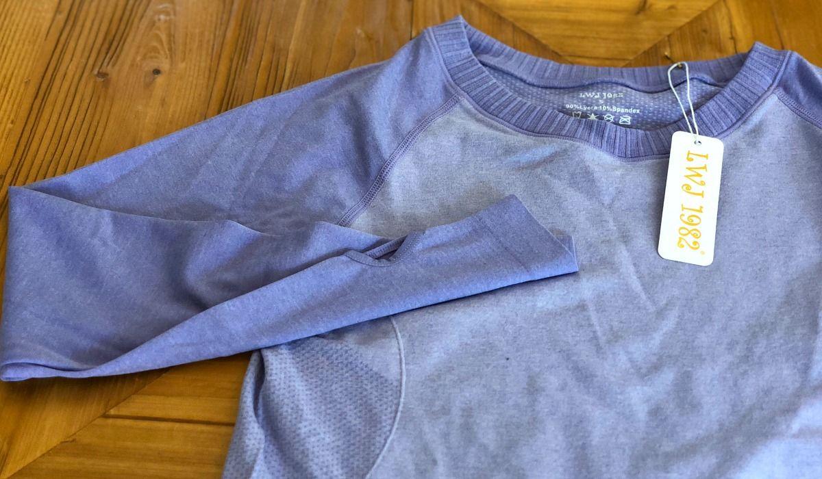 activewear pieces amazon lululemon long sleeve running