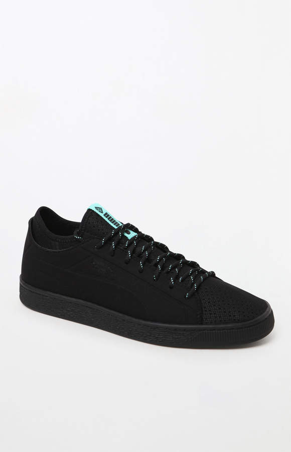 online store 274b7 d0393 Puma x Diamond Supply Co Basket Sock Lo Black Shoes ...