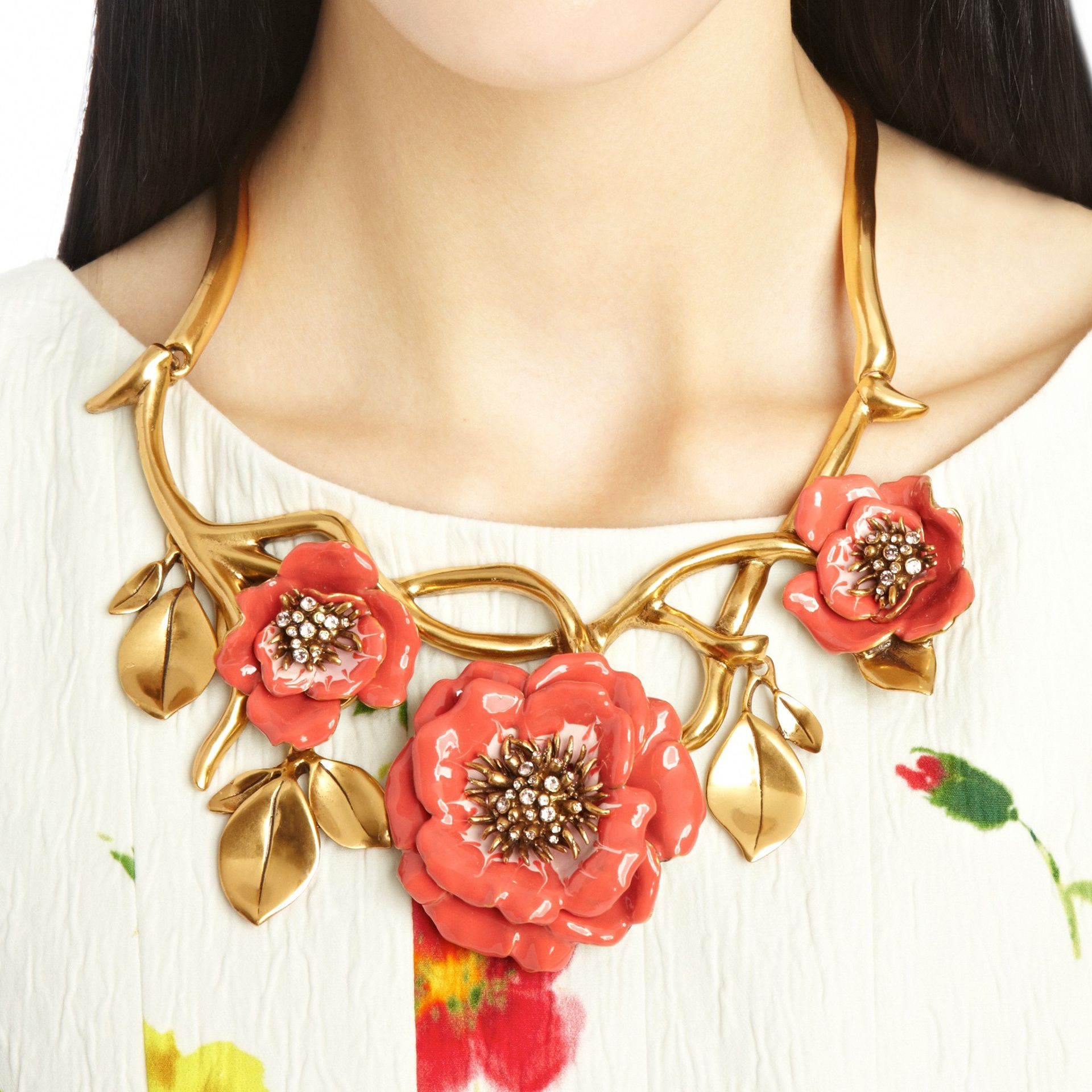 Go full throttle into spring with this must have floral accessory.
