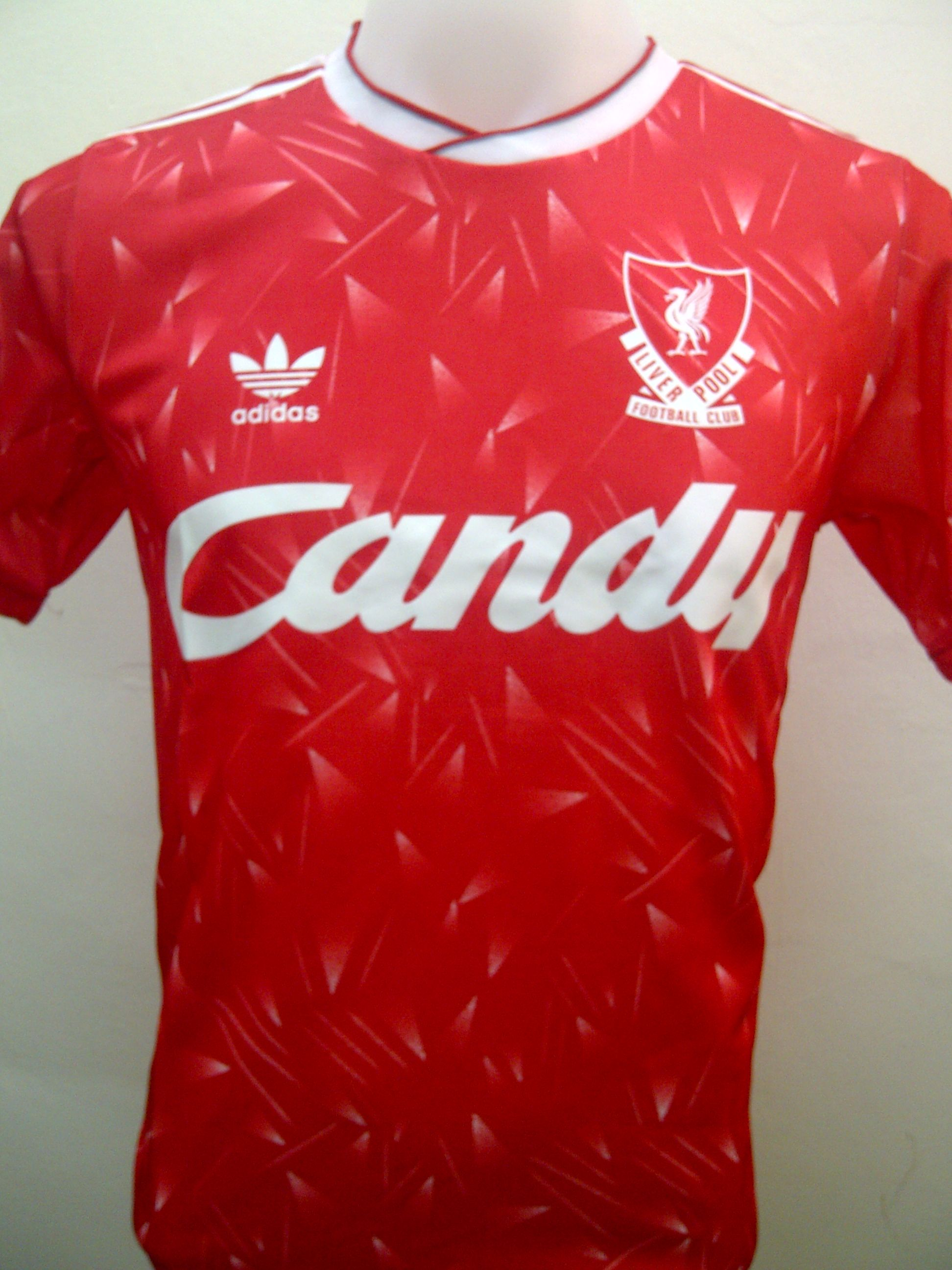 Liverpool 1990 Home Vintage Jersey Conditon New Replica Fabric 100 Polyester Grade Aaa Vintage Jerseys Football Shirts Football Uniforms