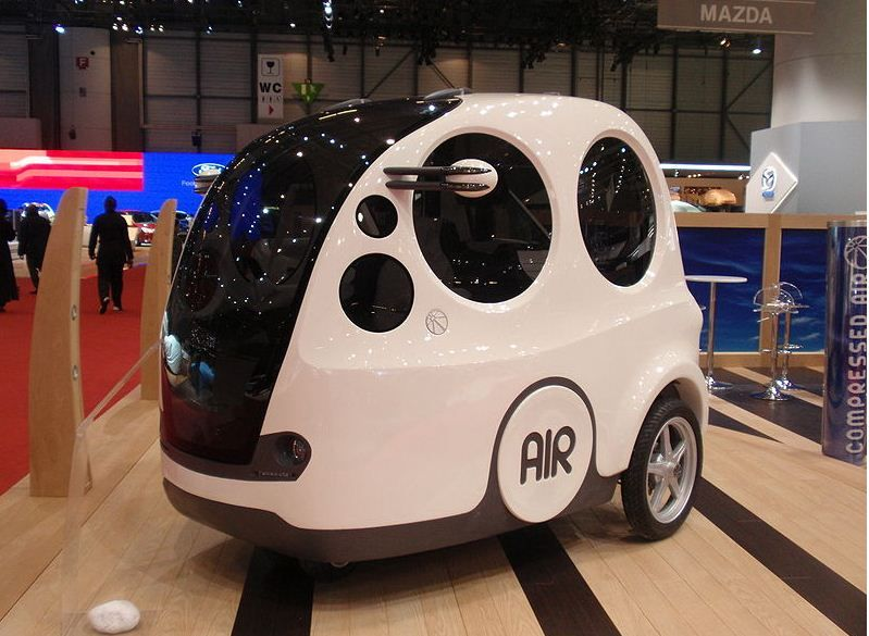 Forget Electric Cars, This One Runs on Compressed Air - Tata Motors, India.