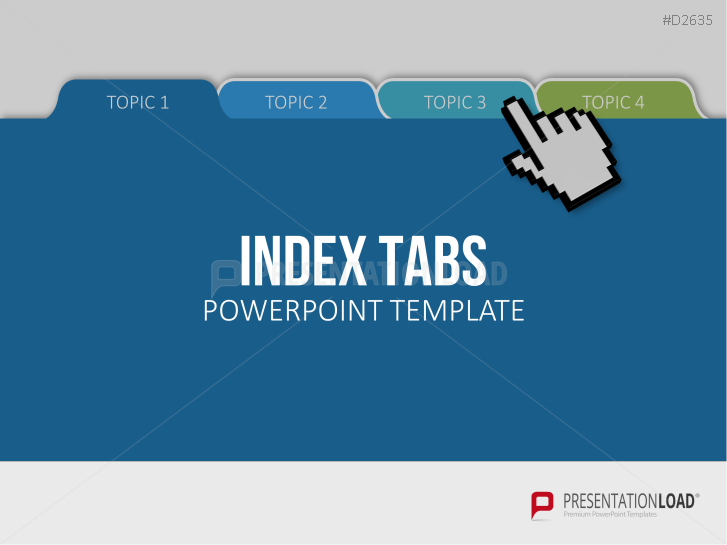 Free Powerpoint Templates With Index Tabs free powerpoint