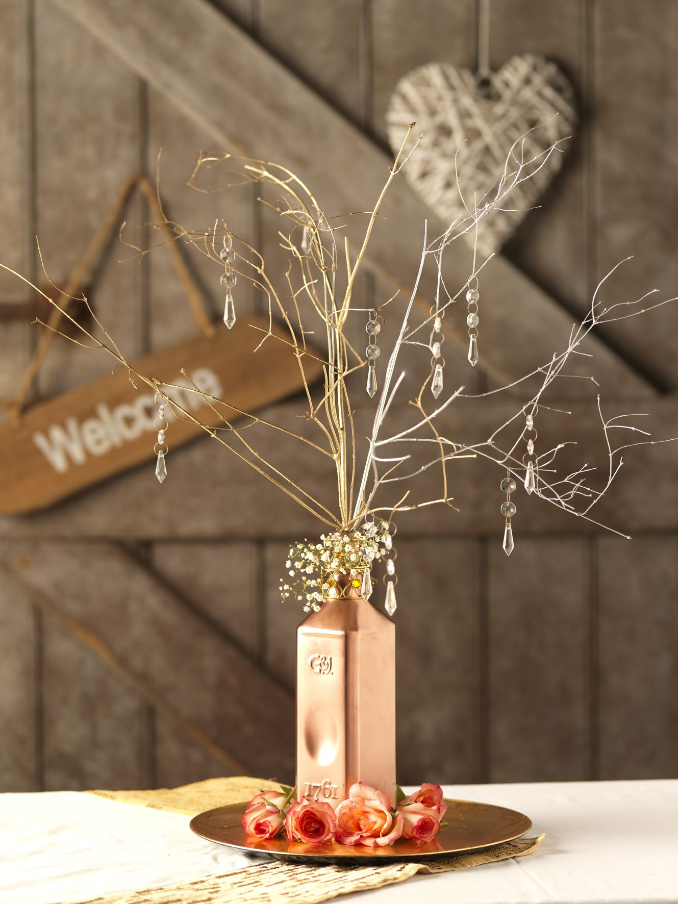 Have a diy wedding and make your own centrepieces diy wedding