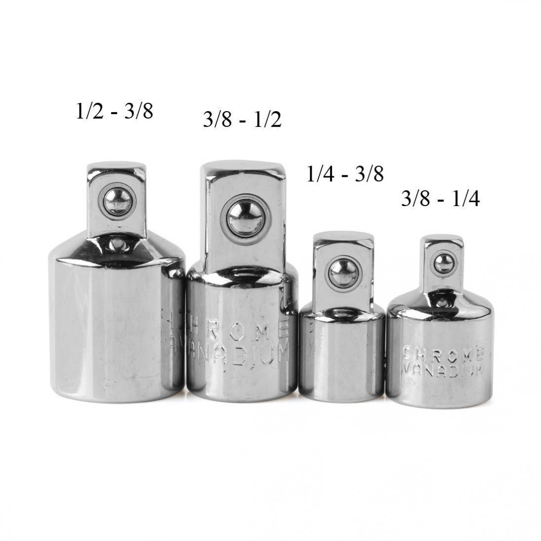 1 4 3 8 3 8 1 2 Male To Female Socket Ratchet Tool Converter Reducer Adapter Socket Wrenches Ratchet Tool Hand Tool Set