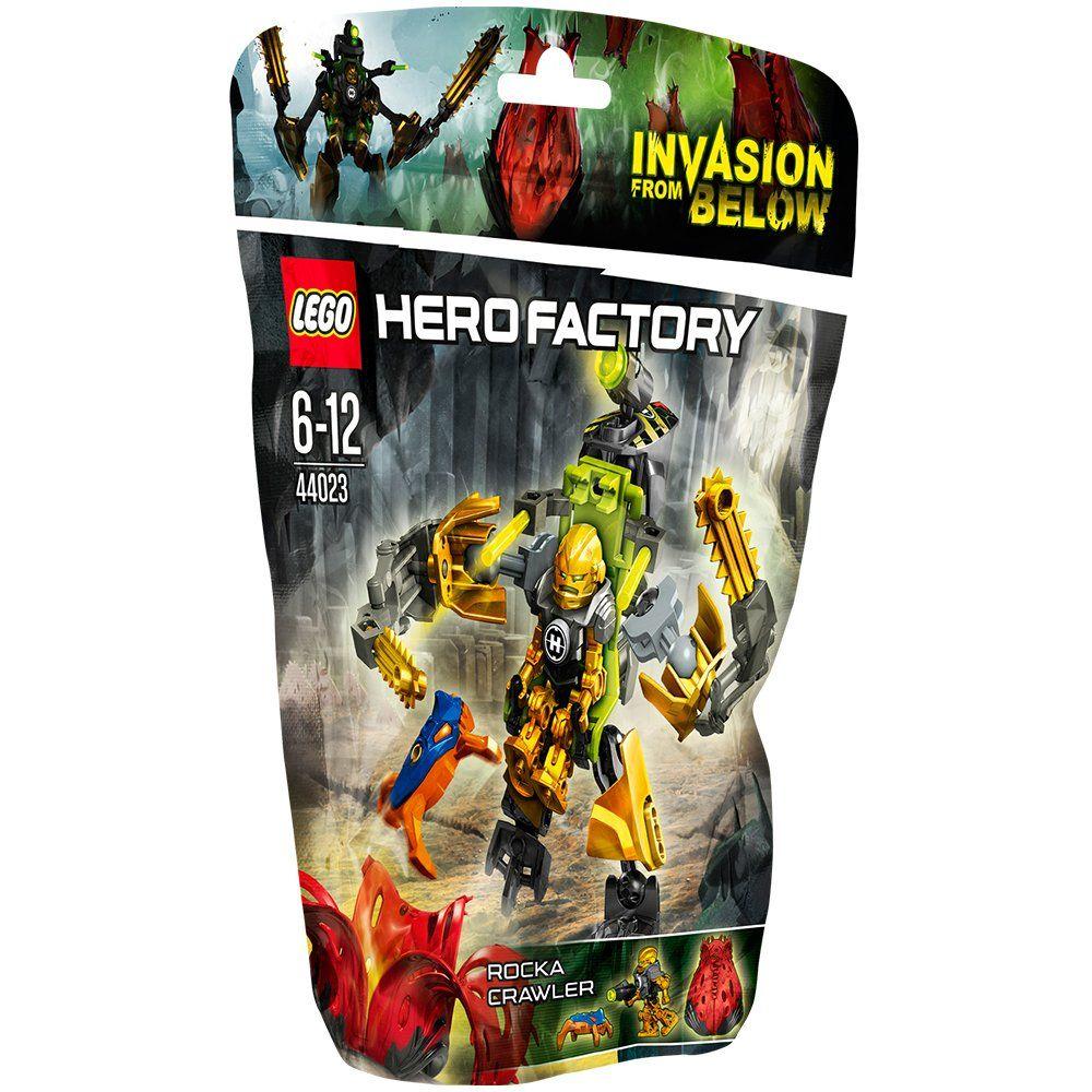 Amazon.com: Lego Hero Factory Rocka crawler 44023: Toys & Games