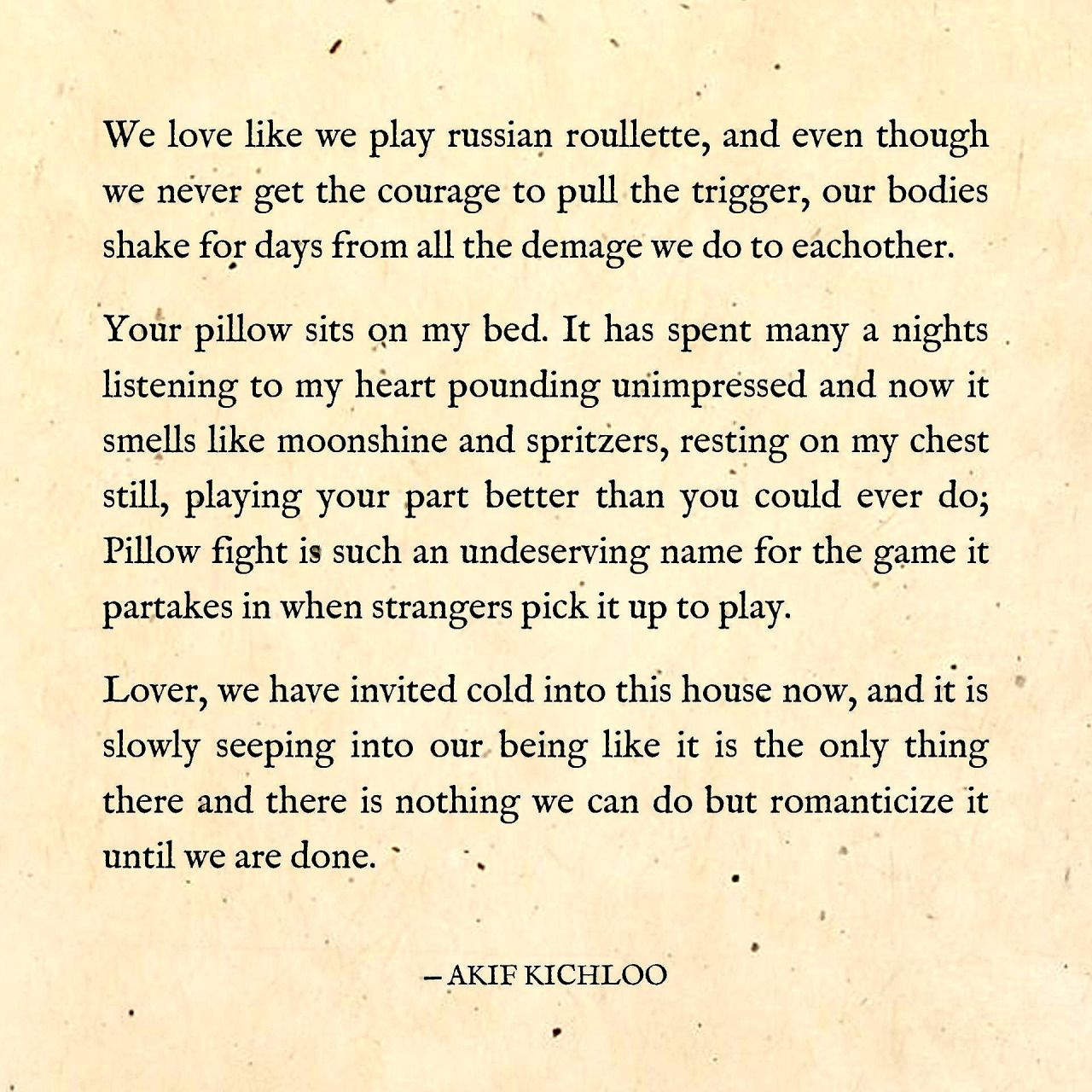 Until We Are Done Written By Akif Kichloo Quotable Quotes