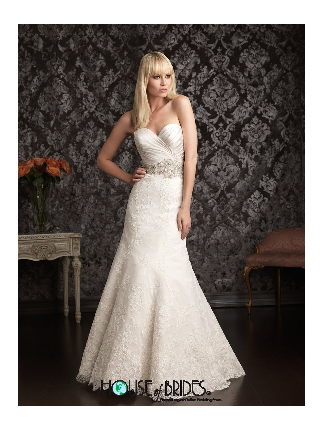 House of brides wedding dresses  Allure Bridals Wedding Dress Style  Stunning You could wear