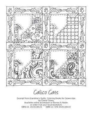 Coloring Pages Free Printable Calico Cats Grandma S Quilts Excerpt Coloring Pages To Print Coloring Pages Coloring Book Pages