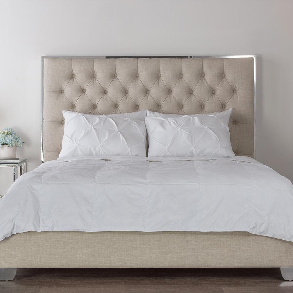 Best Baxton Studio Fiona Beige Queen Upholstered Bed 28862 6329 400 x 300
