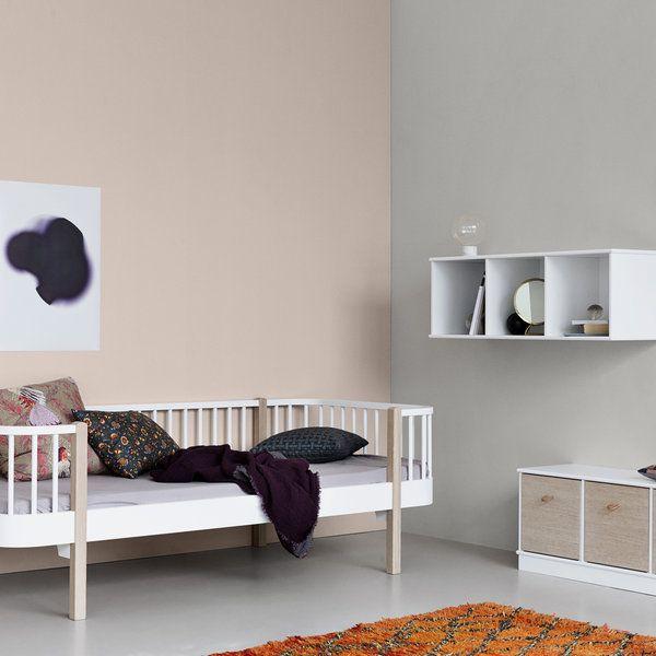 Children S Scandi White Day Bed Childrens Bedroom Furniture Modern Kids Bedroom Furniture Toddler Bed