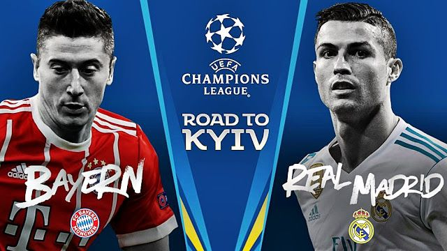 Pin En مشاهدة مبارات ريال مدريد ضد بايرن ميونخ Champions League 25 04 2018 Real Madrid Vs Bayern Munchen