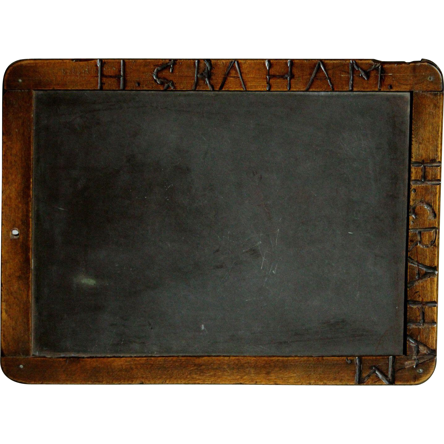 Antique English 19th Century School Chalkboard - Writing ...