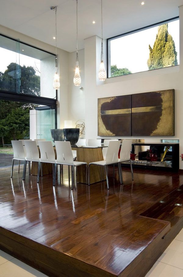 Designer Dining Room Chairs South Africa modern conversion 16 striking house make over in south africa: mosi