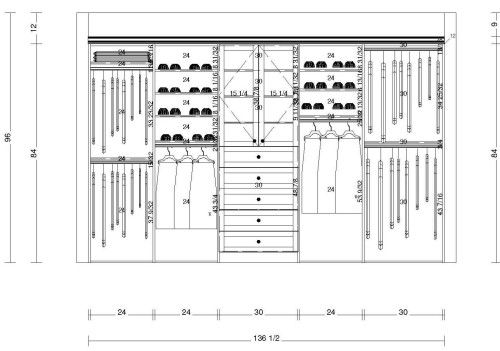 Pichod Com Walk In Closet Dimensions Closet Design Plans Closet Layout