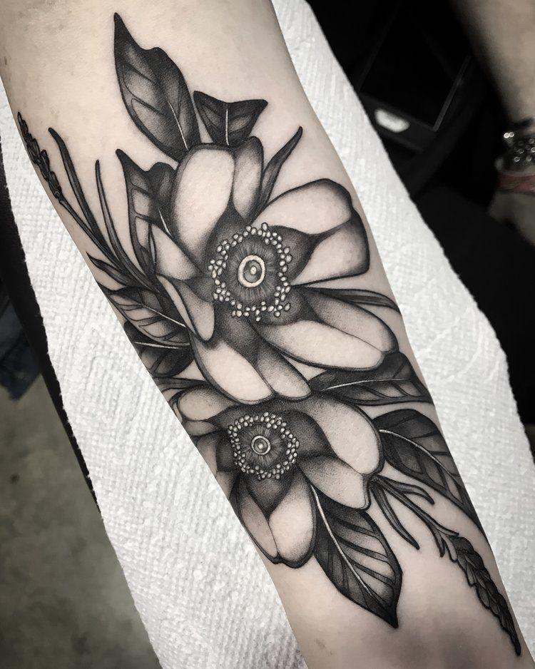 Img 4709 Jpg Tattoos Floral Tattoo Custom Tattoo