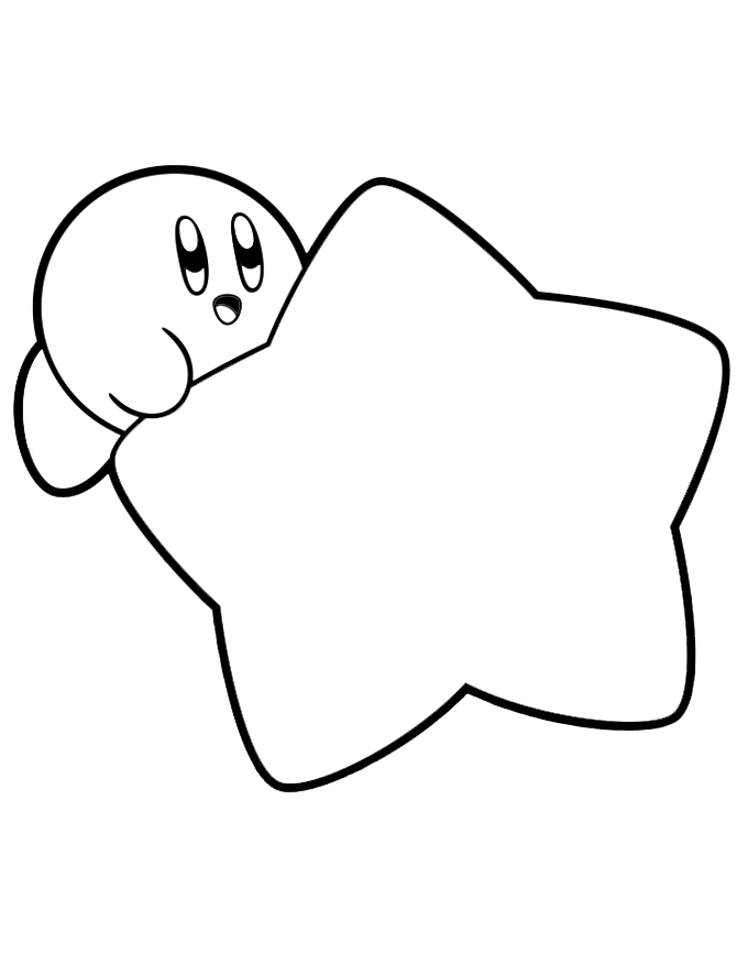 Kirby Coloring Pages Coloring Pages For Star Coloring Pages Cartoon Coloring Pages Coloring Pages