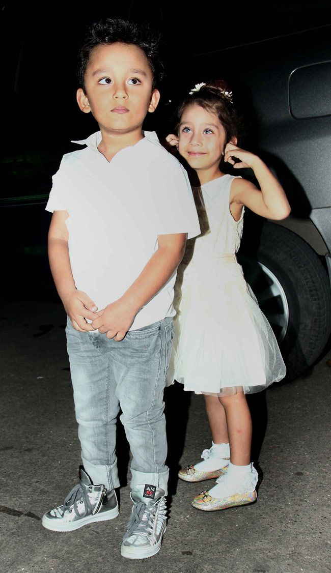 Star kids at Bhushan Kumar's son's birthday bash | People in