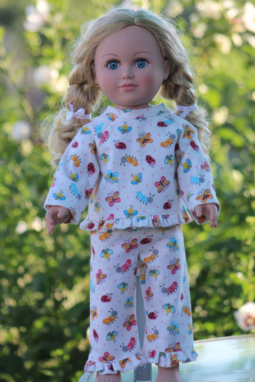 "Journey Girls 18/"" Doll Clothes NEW Plaid Shirt with Tie Waist Purple Blue   SALE"
