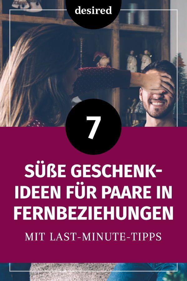 7 süße Geschenkideen für Paare in Fernbeziehungen