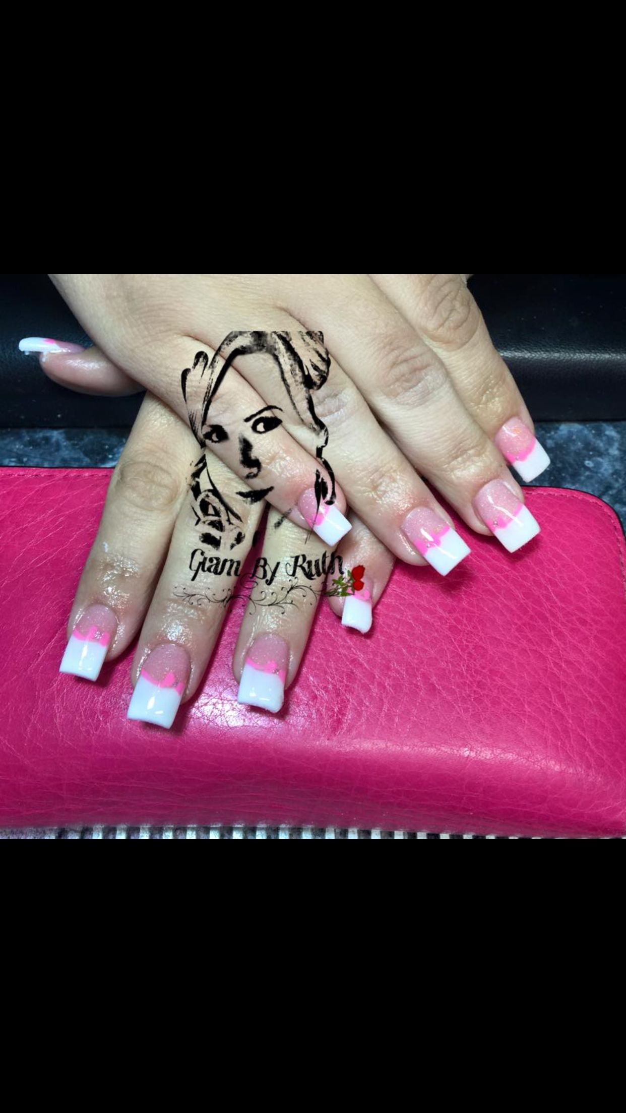 LG Salon, Lemon Grove Nail Art, Nail Design, nail, acrylic