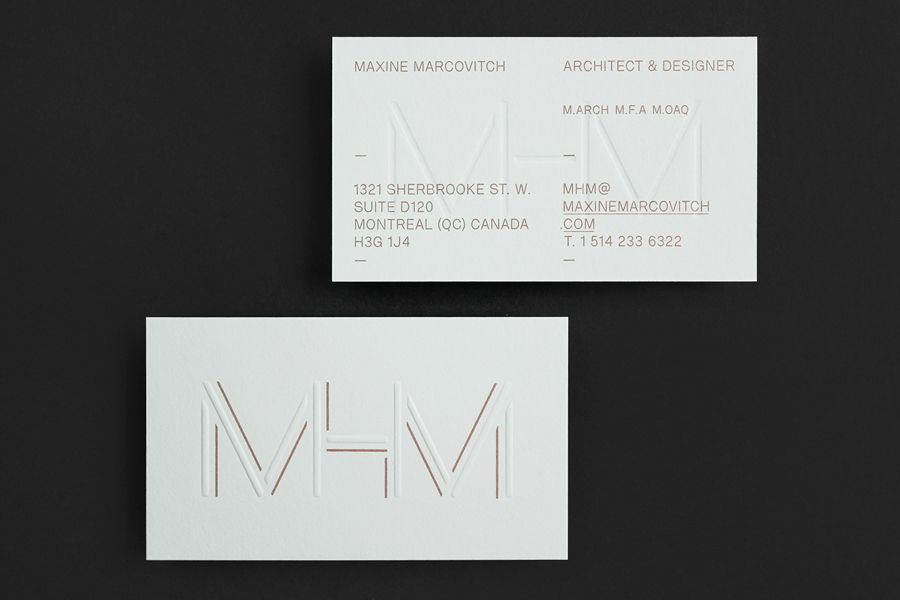 New Brand Identity for MHM Architects by 26 Lettres - BP&O ...
