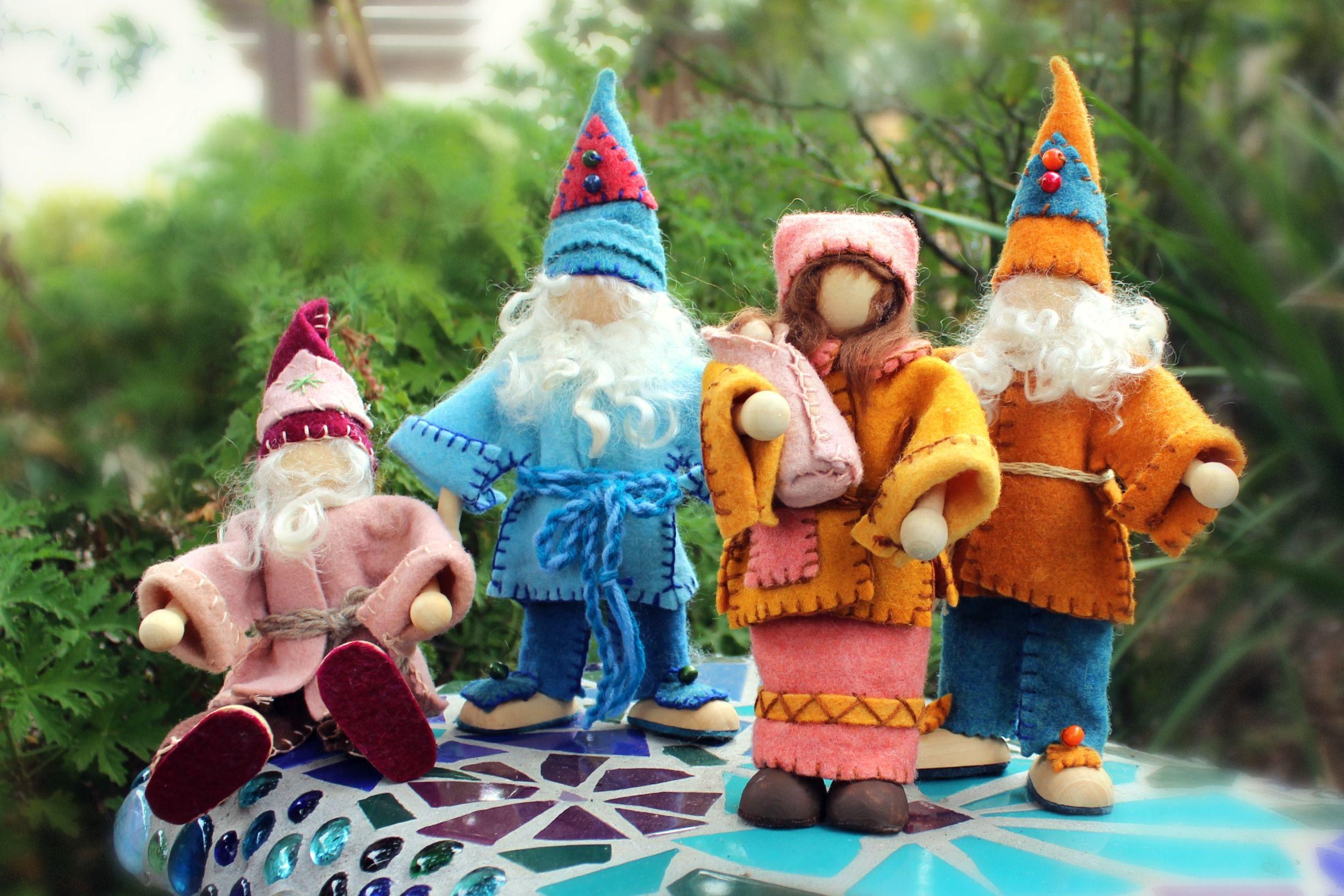 handmade gnome - Google'da Ara   Gnomes   Dolls, Waldorf