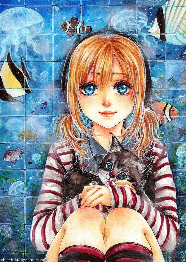 55 Beautiful Anime Drawings Anime, Anime chibi, Drawings