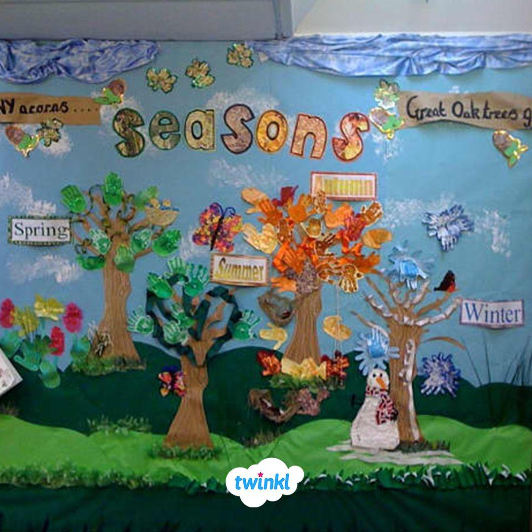 Create A Seasons Classroom Display With Our Free Seasons