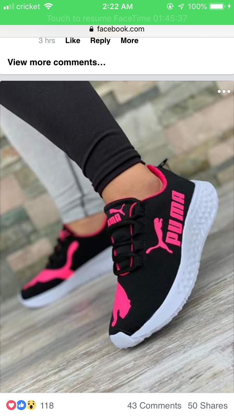 black and hot pink puma shoes off 60