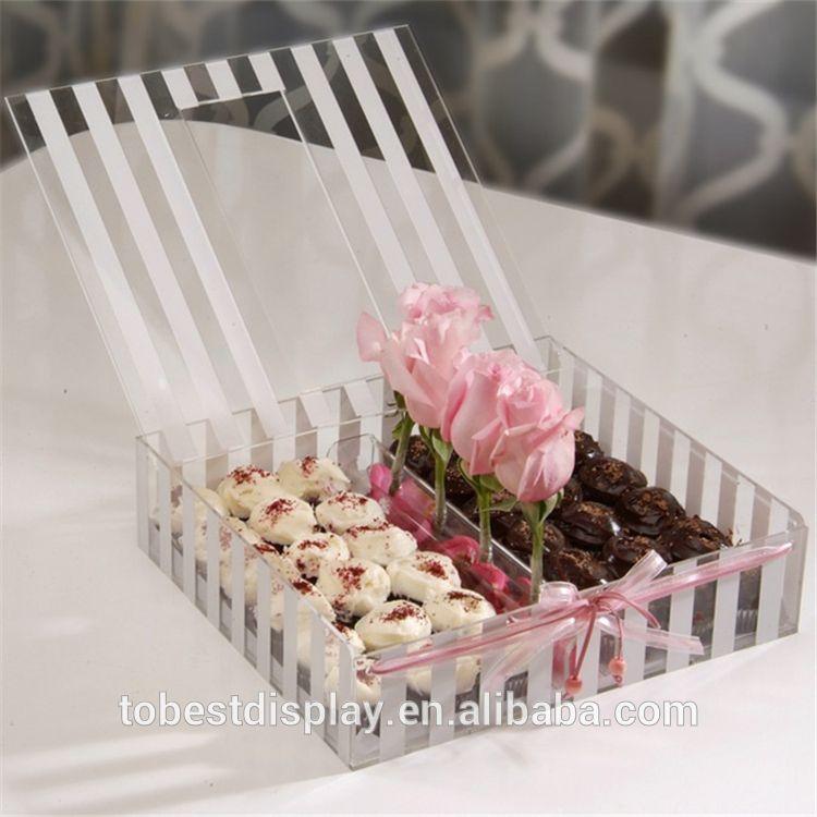 الاكريليك شبكي الشوكولاته هدية مربع الشوكولاته مربع التعبئة والتغليف علب الهدايا حلويات محلية الصنع رفو Ramadan Gifts Baby Gift Box Gift Wrapping Inspiration