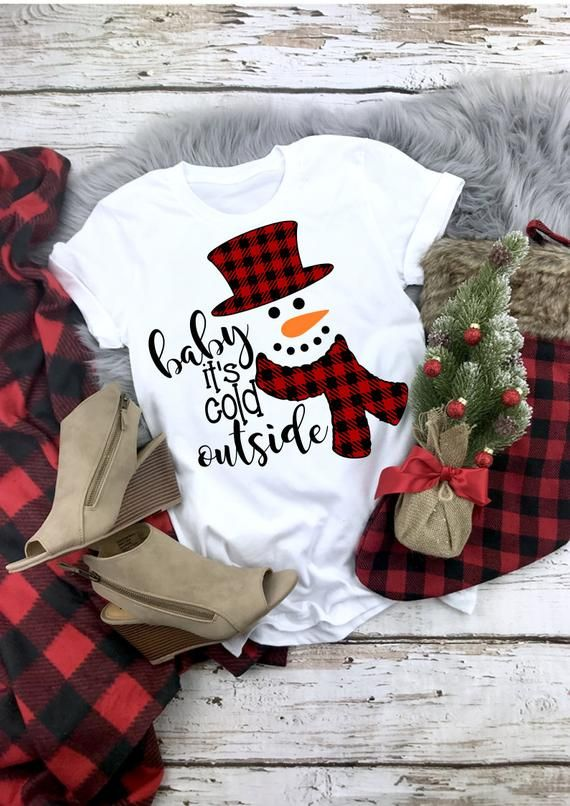 Baby It's Cold Outside Svg, Christmas Svg, Winter T Shirt Svg, Christmas Clip Art, Svg, Eps, Ai, Pdf, Png, Jpeg, Cut Files,