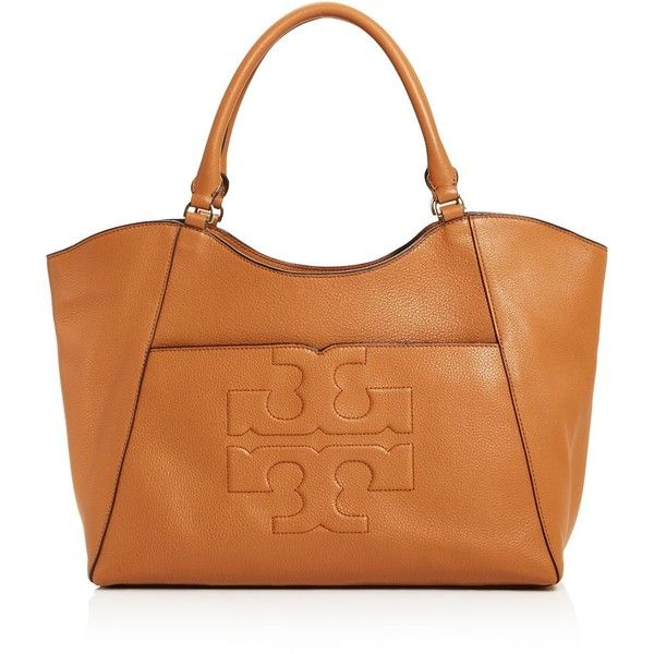 Tory Burch Bombe-t East West Tote ( 560) ❤ liked on Polyvore featuring bags 2a0f99d5dc42a