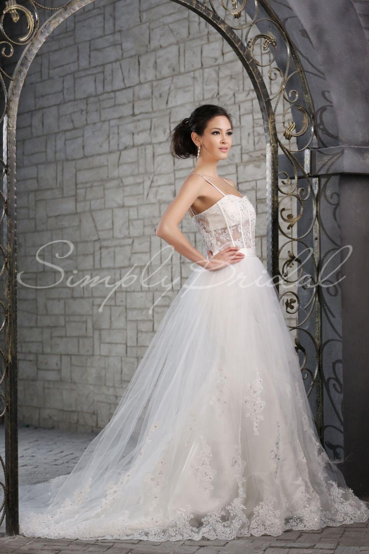 da1f562a46b Santana Gown - Mermaid Trumpet - Silhouette - Simply Bridal ...