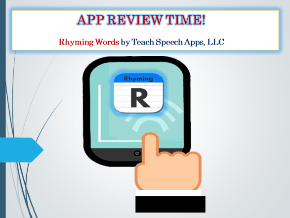 Review & Giveaway For Rhyming Words by Teach Speech Apps