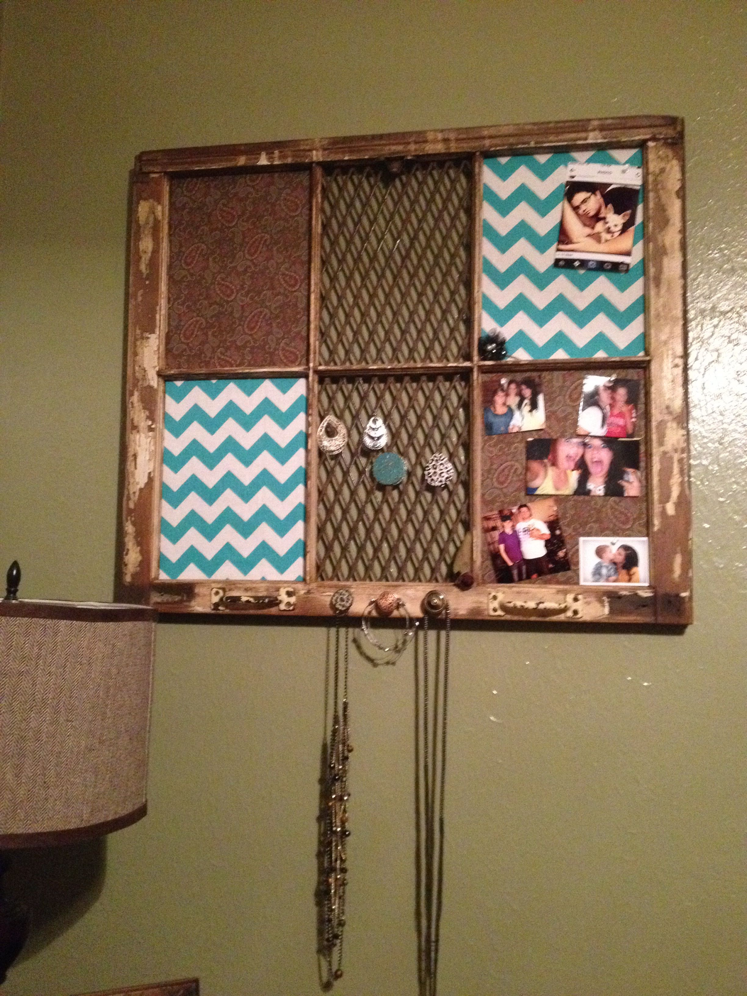diy old window frame crafts diy home decor diy craft projects home crafts. Black Bedroom Furniture Sets. Home Design Ideas