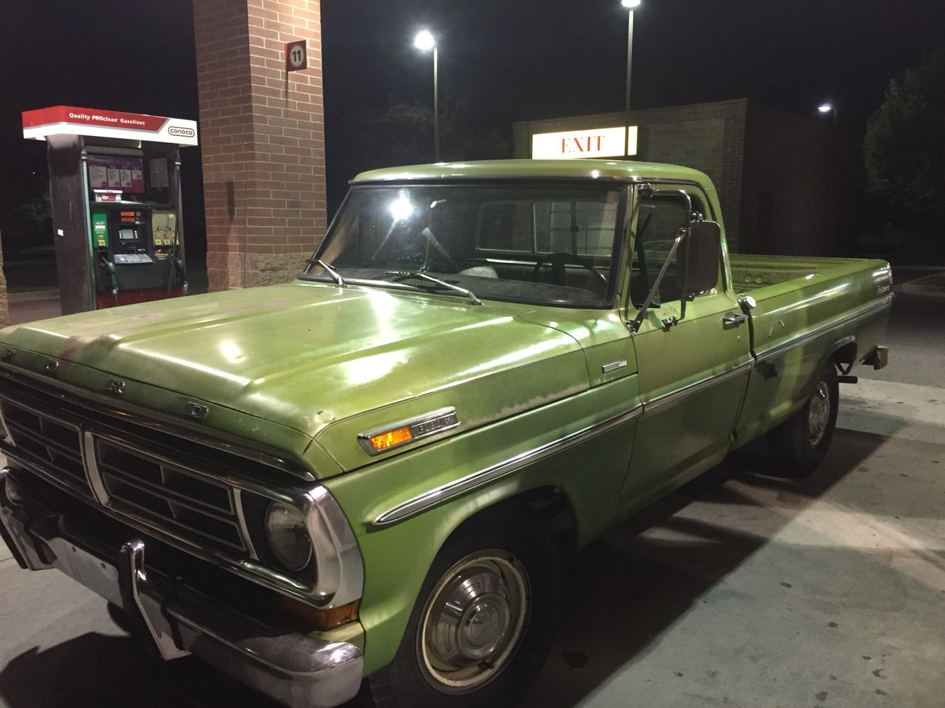 1972 Ford F 250 Camper Special Lime Green Which Was Only Available 1964 F250 On The Explorer For Second Half Of Comes In 4 Colors That